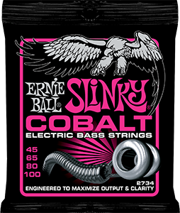 Pack of Cobalt Slinky strings