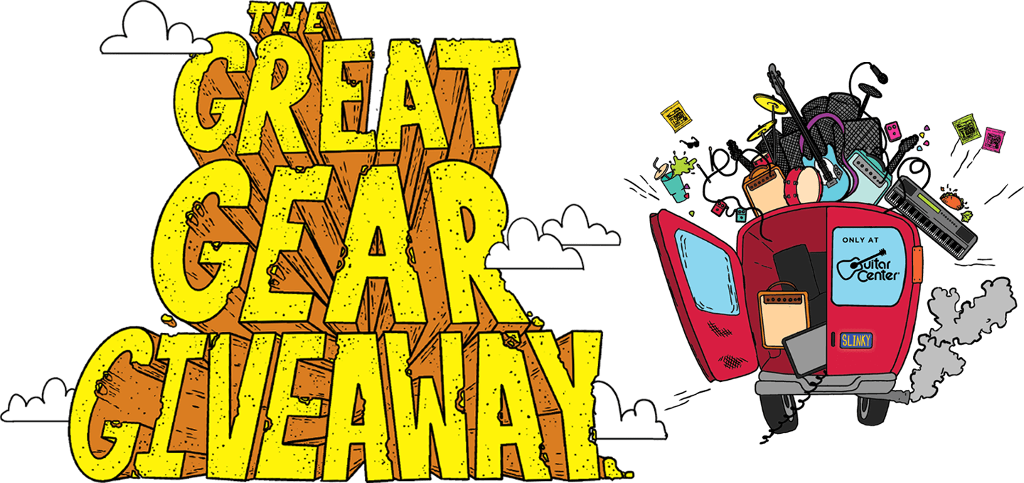 Great Gear Giveaway Logo with Truck