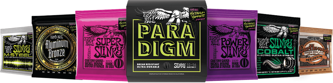 Ernie Ball String Pack