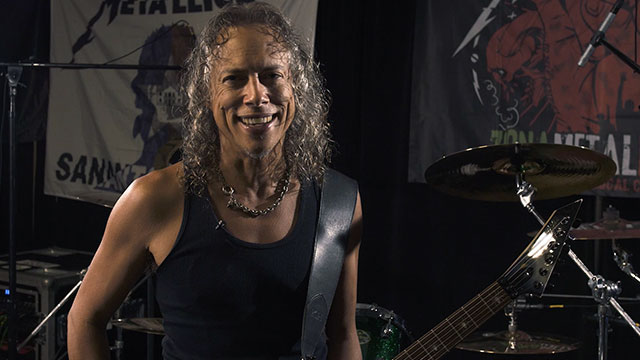 Kirk Hammett Video Thumbnail 1