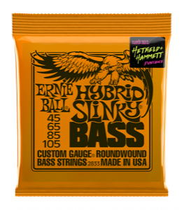 Pack of Ernie Ball Guitar Strings